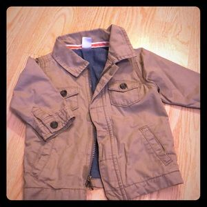 9 month khaki jacket Carter's